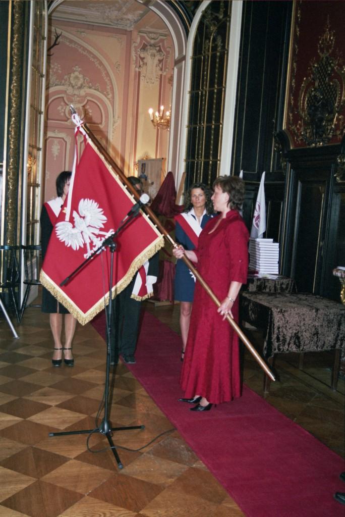3 nadanie sztandaru 25 czerwiec 2005
