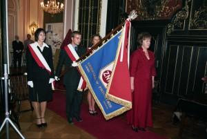 4 nadanie sztandaru 25 czerwiec 2005